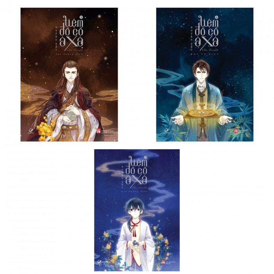 Sách Combo Tiệm Đồ Cổ A Xá Tập 3 + Tập 4 + Tập 5 (Trọn Bộ 3 Tập, Bản Đặc Biệt Tặng Kèm bookmark)