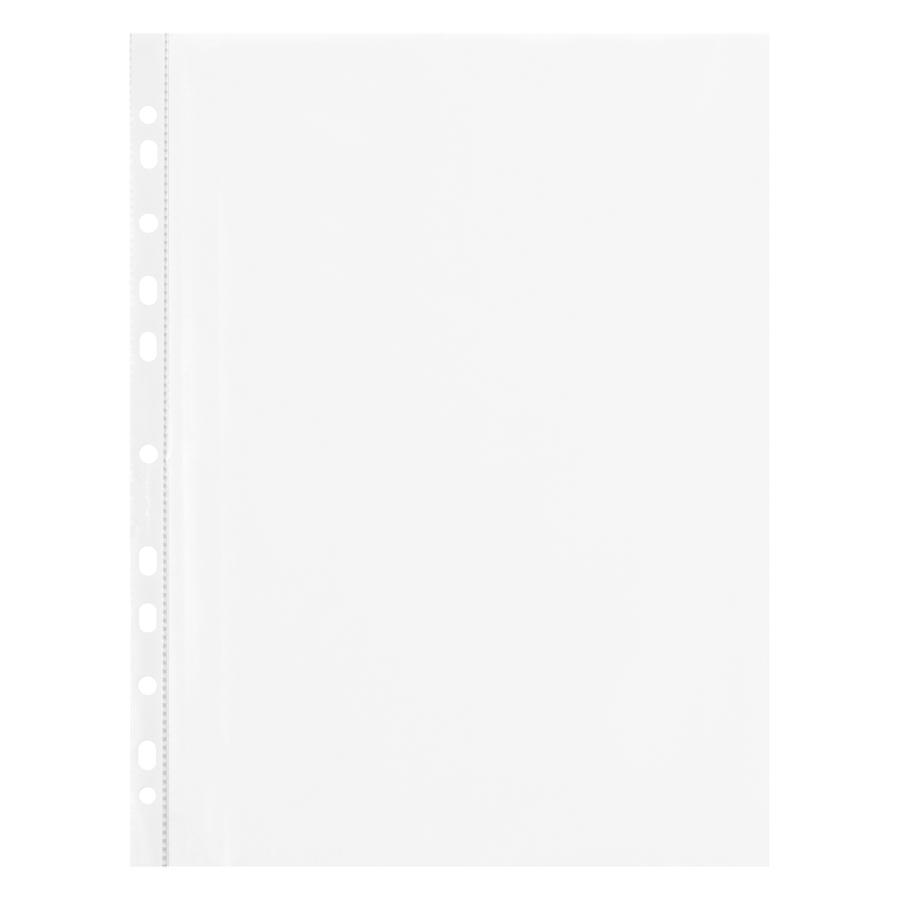Túi 100 Bìa Lỗ Flexoffice A4 Fo - Cs03 (Không Viền 0.045mm)