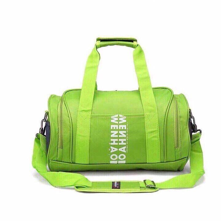 Túi xách thể thao xanh lá