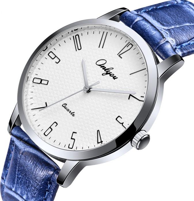 Đồng hồ Onlyou Nam 81029GB Dây Da 40mm