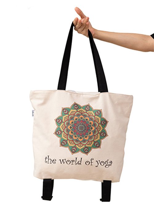 Túi Yoga chuyên dụng họa tiết Mandala phối màu TY-BW005-L1 cao cấp