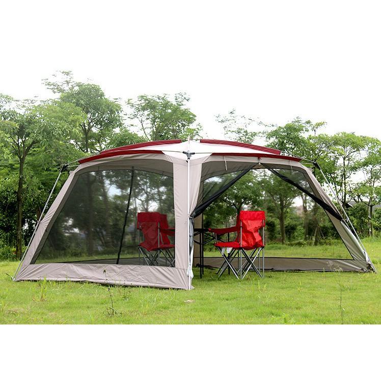 Nhà đi du lịch dã ngoại xếp gọn  cho 8 người SOTO Anti-Mosquito có lưới chống muỗi và côn trùng