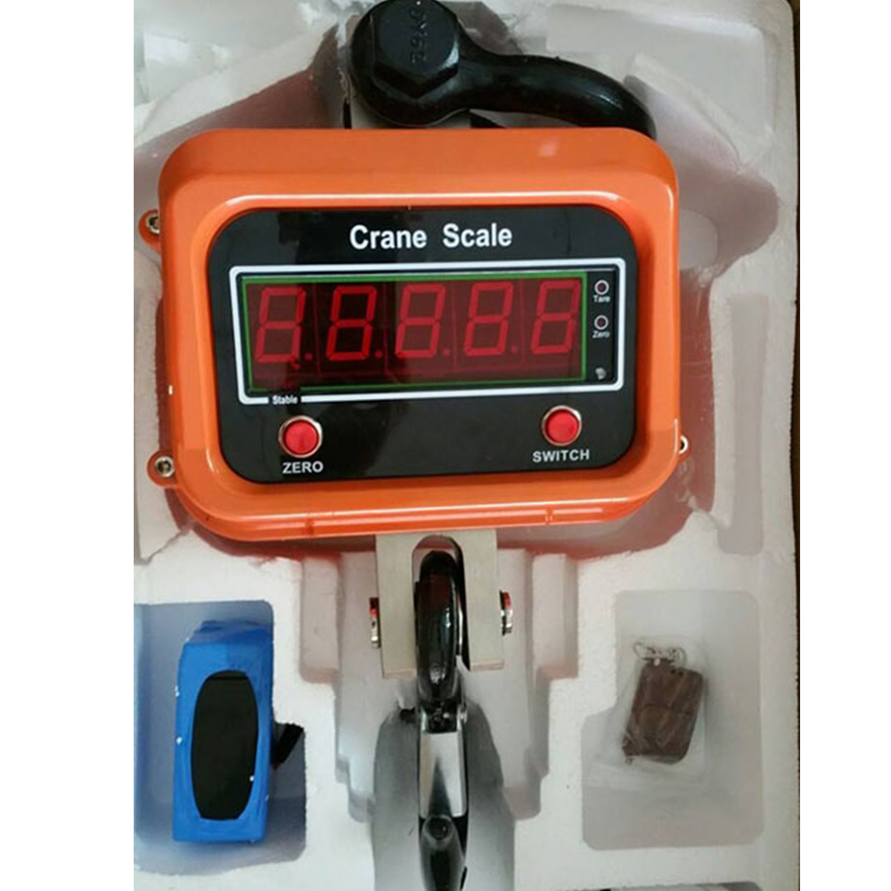 Cân Treo Điện Tử OSC Crane Scale 5 Tấn, Dùng Để Cân Hàng Hoá Trong Nhà Xưởng, Công Nghiệp Và Đời Sống - Hàng Chính Hãng