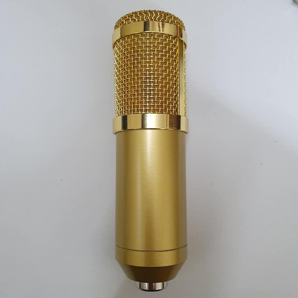 combo Bộ Míc Thu Âm Livestream Hát Karaoke Online Micro BM-900+ CARD V10 Bluetooth