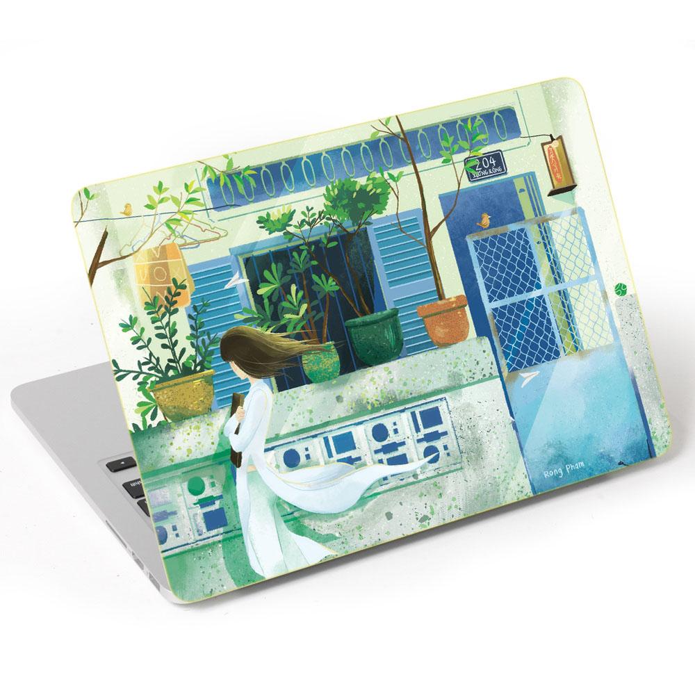 Mẫu Dán Trang Trí Mặt Ngoài + Lót Tay Laptop Nghệ Thuật LTNT- 975