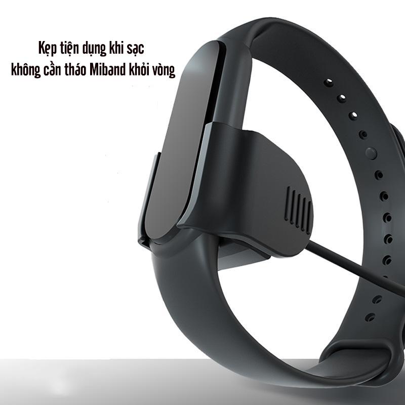 Cáp sạc kẹp dành cho Xiaomi MiBand 5