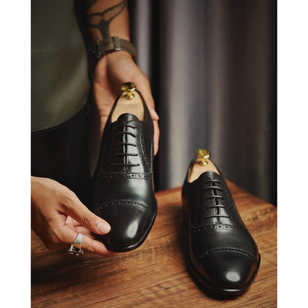 Cây giữ phom giày Shoe Tree gỗ tuyết tùng thương hiệu Leonardo