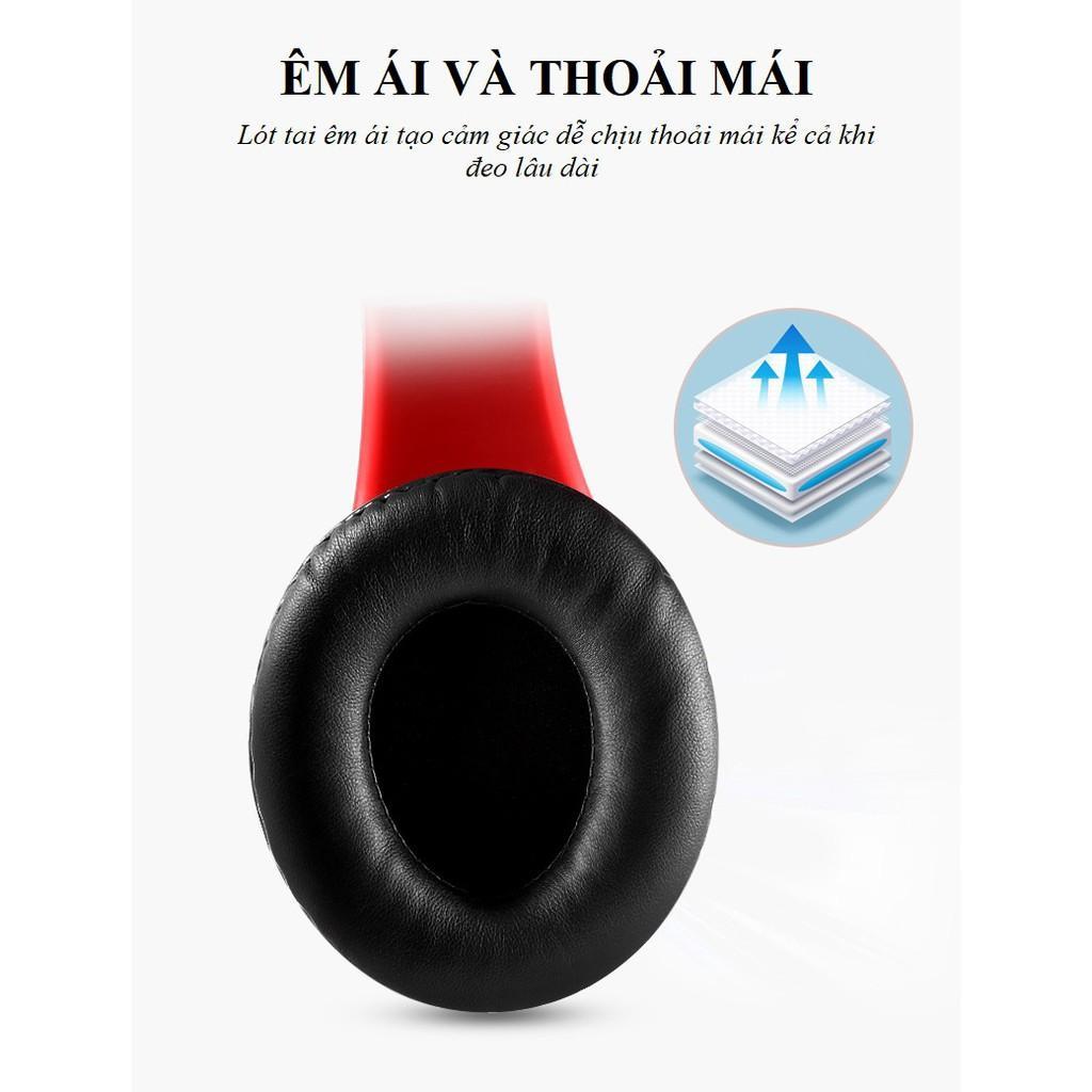 Tai Nghe Chụp Tai ️️ Tai Nghe Bluetooth Âm Thanh Chân Thực, Sống Động - Tai Nghe B39 Lót Tai Êm Ái Thoải Mái