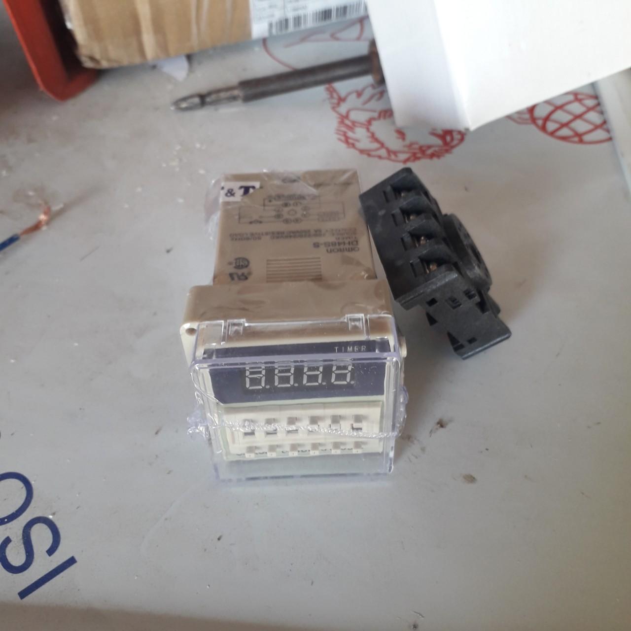 Timer đảo trứng DH 48S-S loại tốt đã bao gồm đế - Ổ cắm điện Thương hiệu  OEM