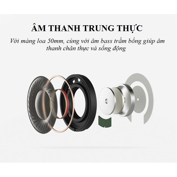 Tai Nghe Chụp Tai ️️ Tai Nghe Có Dây Âm Thanh Rõ Ràng - Tai Nghe Phong Cách KH-A102 Trẻ Trung Cá Tính