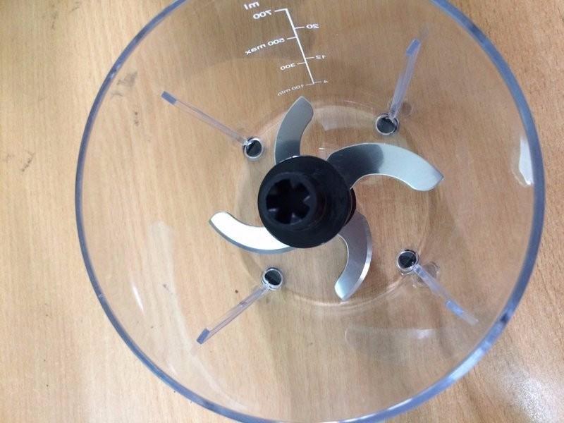 Máy xay đa năng 700ml 2 lưỡi - 2 tốc độ xay - Màu Ngẫu Nhiên