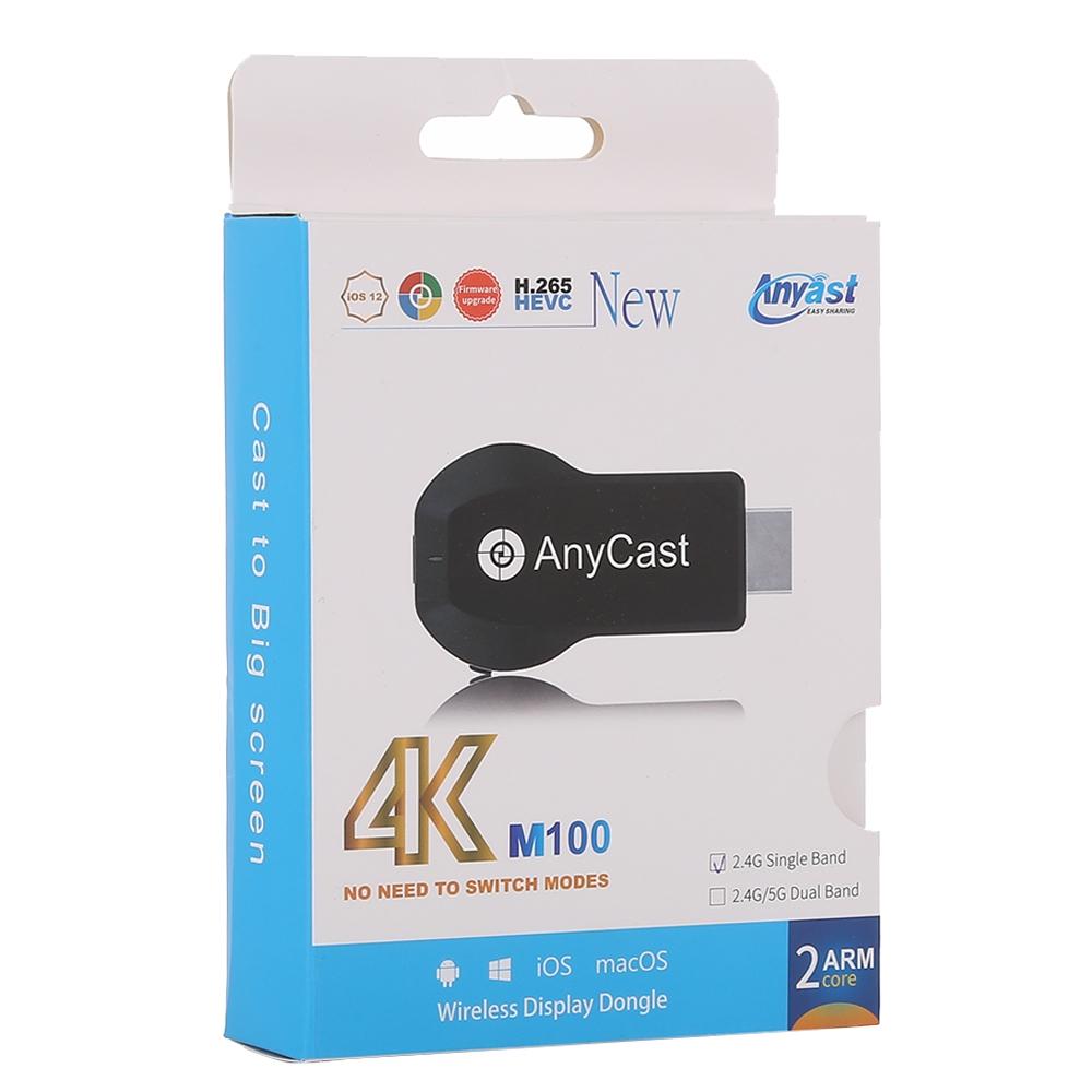 Thiết Bị Kết Nối HDMI Không Dây Anycast M100 Chất Lượng 4K - Hàng nhập khẩu