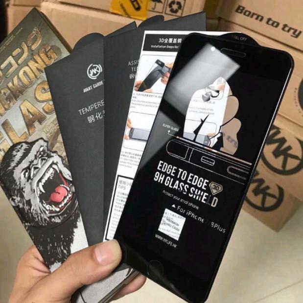 Cường Lực WK KingKong Iphone 6, 6Plus, 6s, 6sPlus, 7, 7Plus, 8, 8 Plus, X, Xs, Xs Max Hàng chính hãng