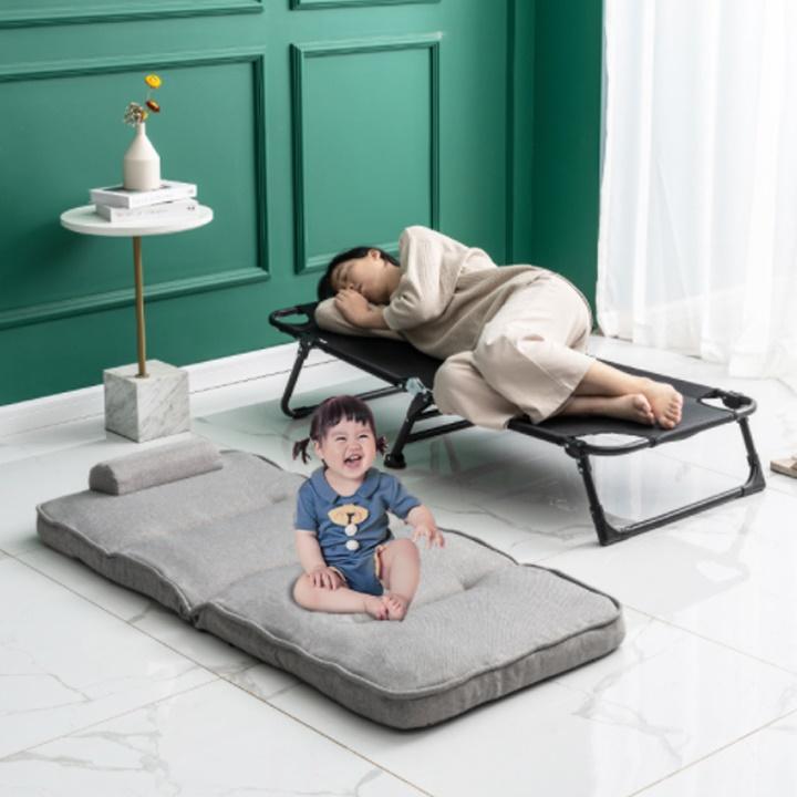 Ghế xếp vă phòng, ghế lười đọc sách kèm giường ngủ di động đa năng