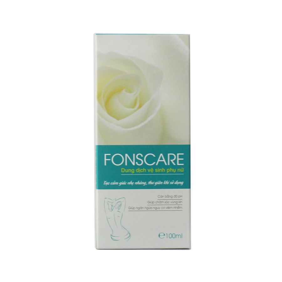 Dung dịch vệ sinh phụ nữ Fons Care