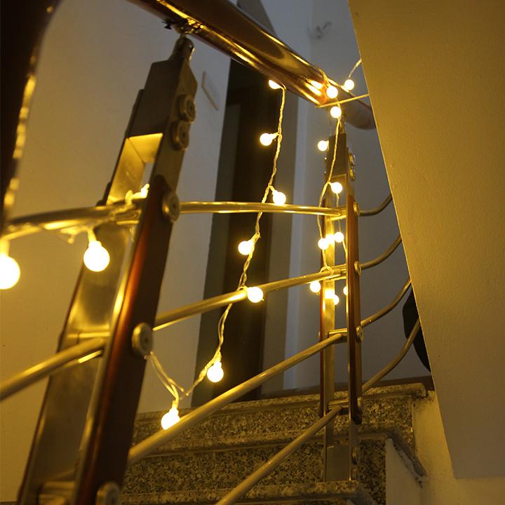Đèn dây trang trí cầu thang