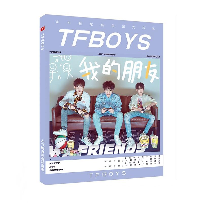 Photobook Tfboys My Friends - Tặng Lomo Tfboys