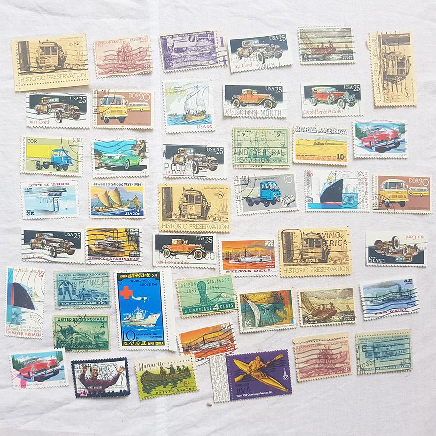 Bộ tem chết sưu tầm nhiều chủ đề