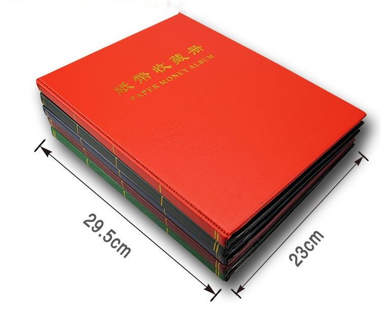 Album Đựng Tiền 20 Phơi 3 Ngăn Trong AB203