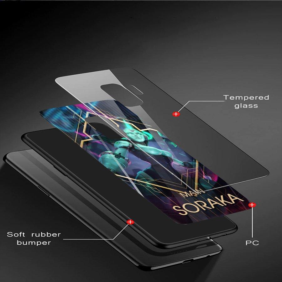 Ốp kính cường lực dành cho điện thoại Samsung Galaxy S9 - liên minh huyền thoại - lmht027 - hàng đẹp