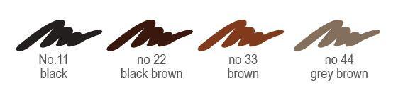 Chì vẽ mày sắc nét Aroma Eyebrow Pencil Hàn Quốc No.11 Balck tặng kèm móc khoá 5