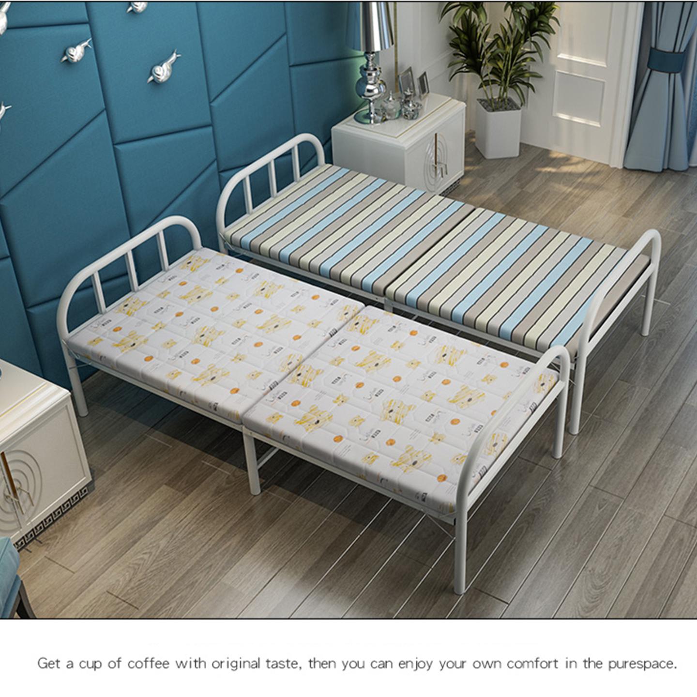 Giường ngủ xếp gọn khung thép, có đệm RE0360