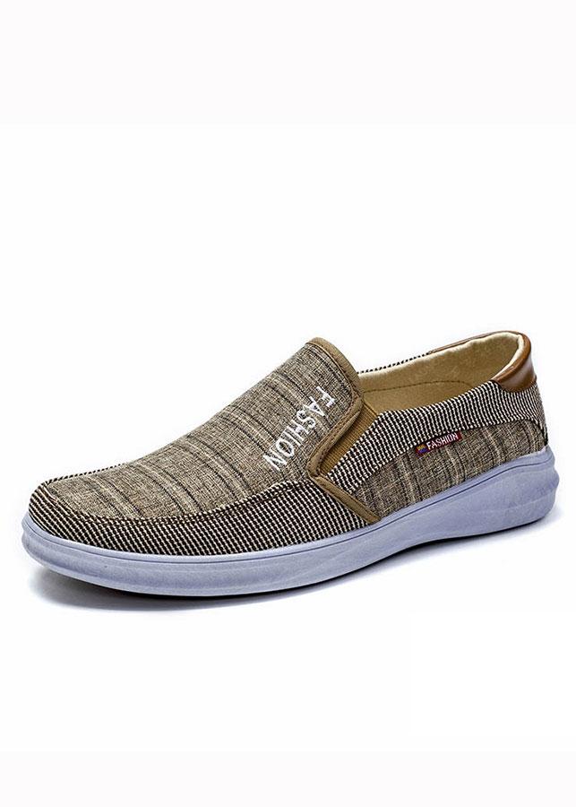 Giày Sneaker Thể Thao Đế Êm Chất Vải Jeans TN09