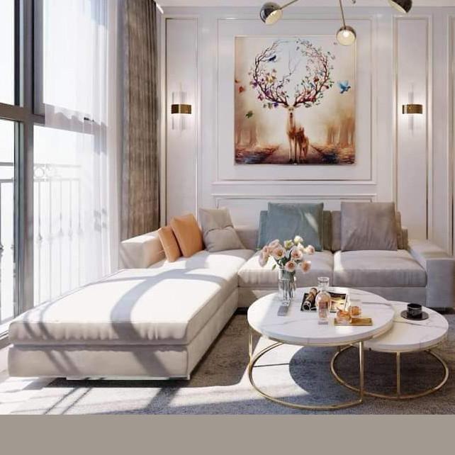 Bộ sofa hình chữ L model 305