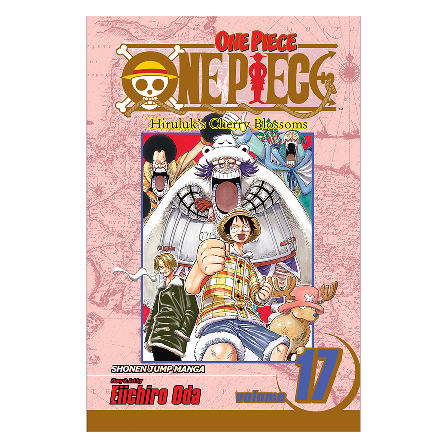 One Piece 17 - Tiếng Anh