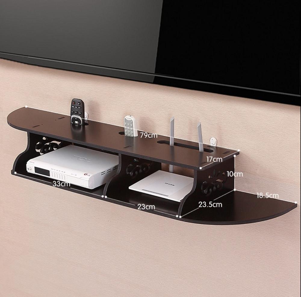 Kệ tivi treo tường TV02 màu đen sang trọng