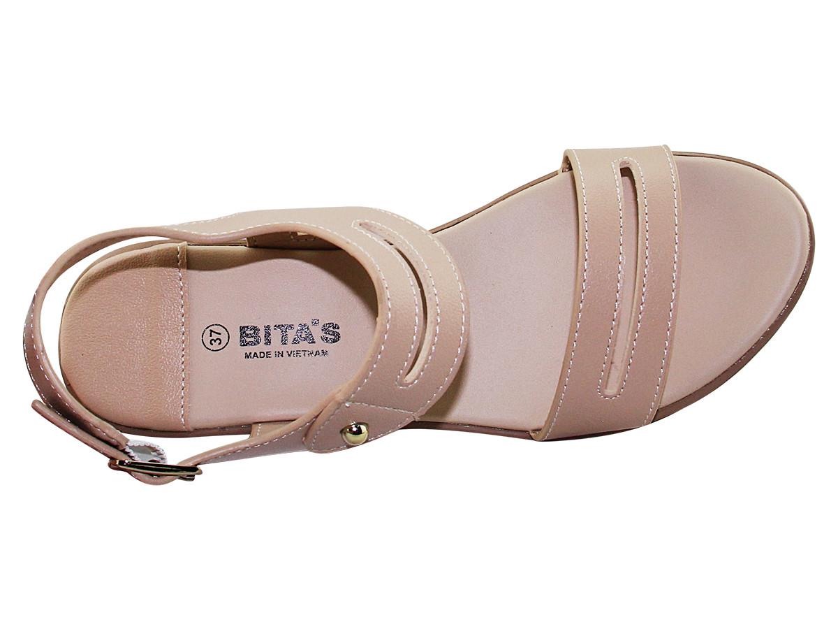 Giày sandal nữ đế xuồng Bita's SYN.238