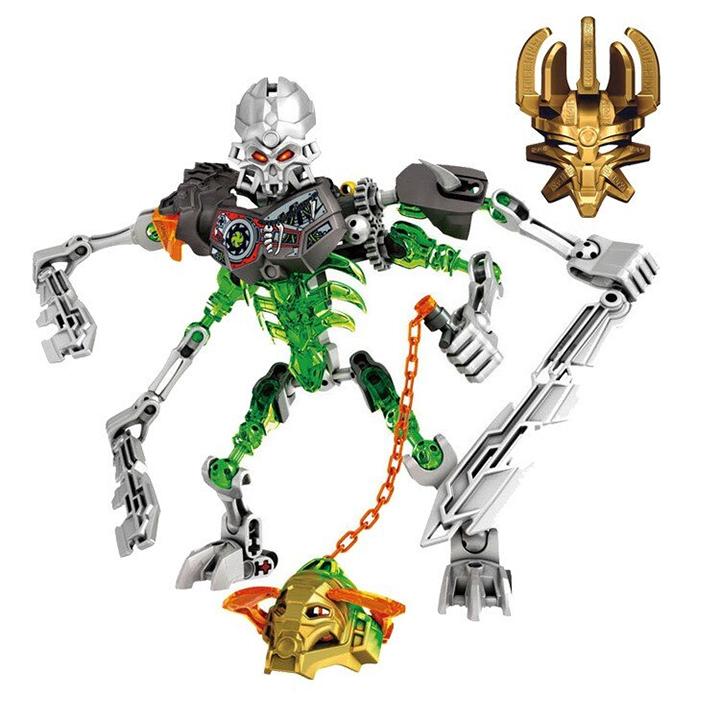 Bộ mô hình đồ chơi Bionicle 710-2 Skull Slicer dành cho bé trên 8 tuổi (73 chi tiết)