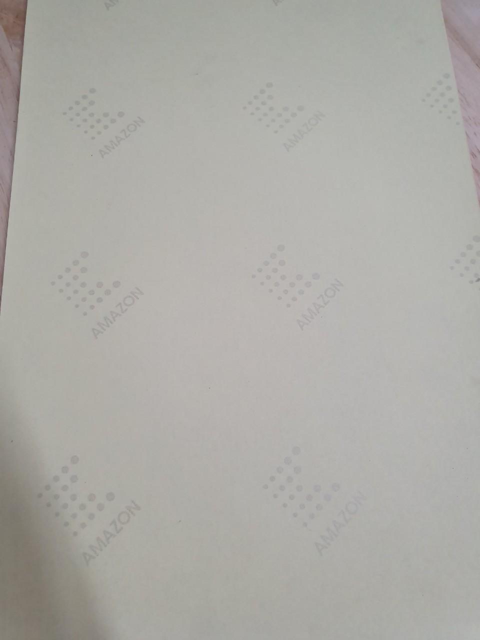 Decal giấy Kraft siêu dính - A4