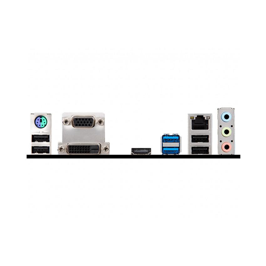 Bo Mạch Chủ Mainboard MSI H310M PRO-VDH PLUS (Intel H310, Socket 1151, m-ATX, 2 khe RAM DDR4)-Hàng Chính Hãng