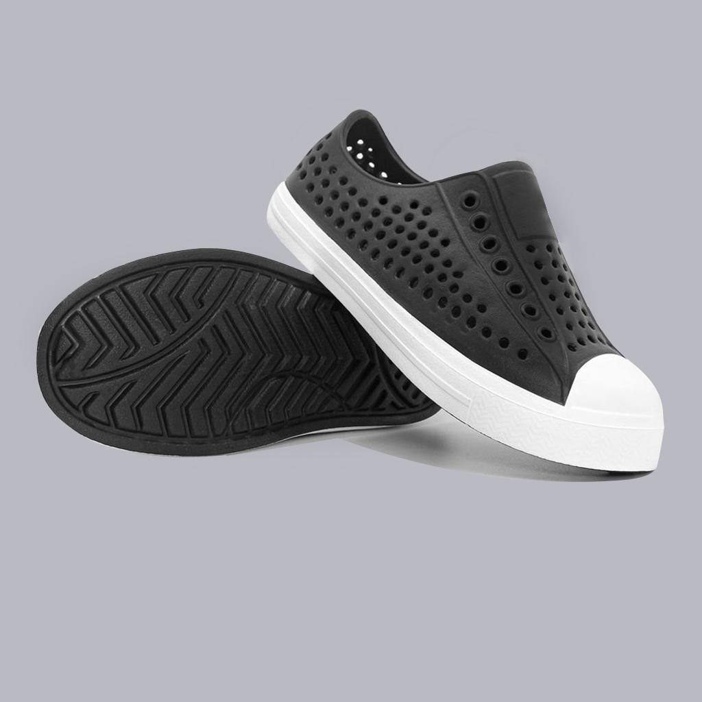 Giày lười nhựa lỗ cho bé trai đi học đi mưa đi biển đi dạo phố - chất liệu nhựa Eva Phylon cao cấp, thoáng mát, siêu nhẹ, siêu mềm, êm chân, không thấm nước ĐTBTSr7