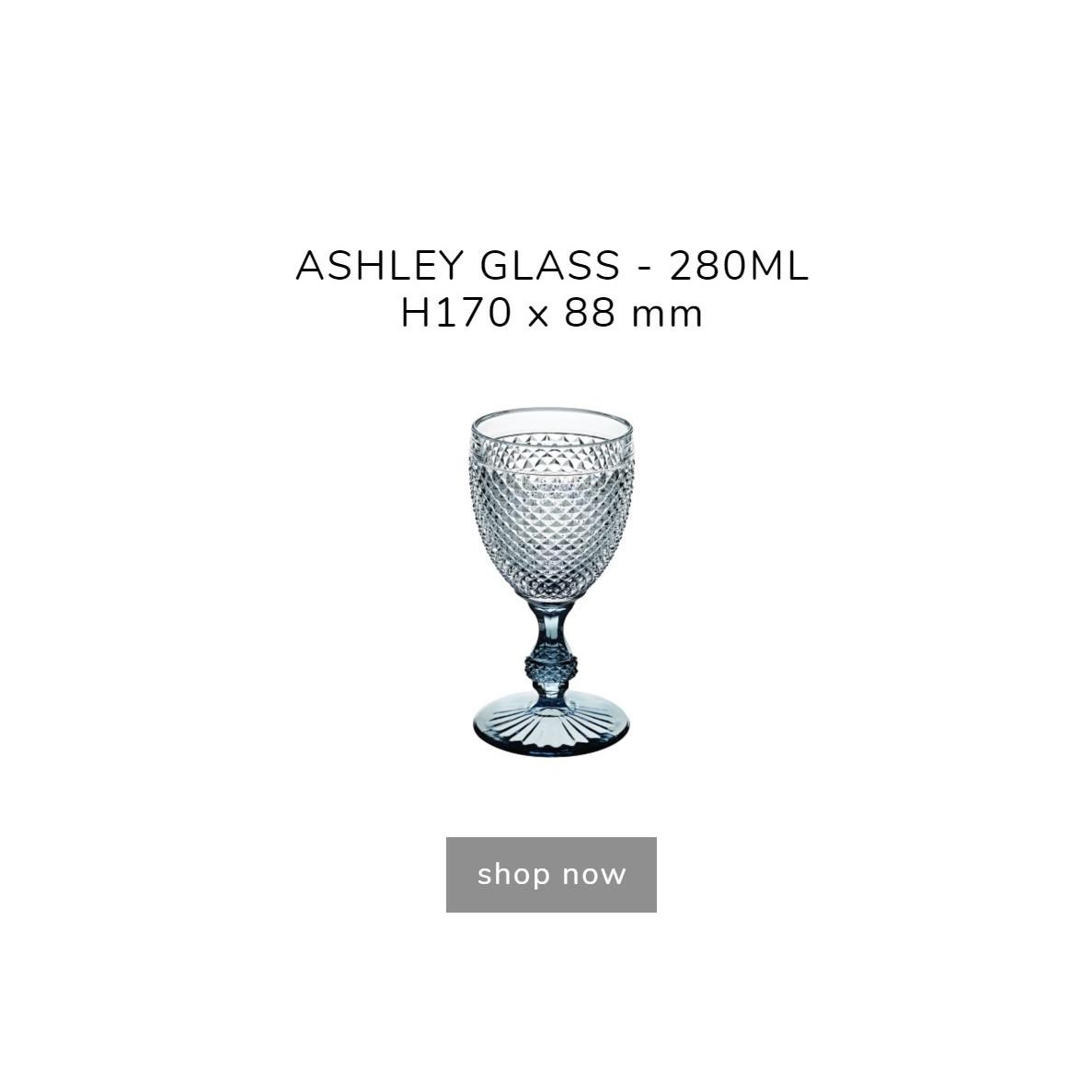 Ly thủy tinh sang trọng  - Diamond glasses