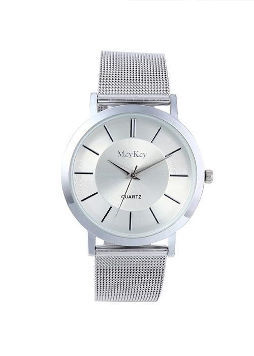 Đồng hồ thời trang nam dây kim loại dh38