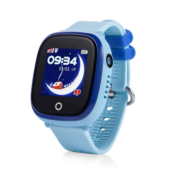 Đồng Hồ Định Vị GPS trẻ em Wonlex GW400X, Chịu Nước IP67, Có Camera (Xanh) - Hàng Chính Hãng