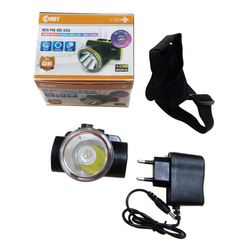 Đèn Pin Đội Đầu Led COMET CRT1613
