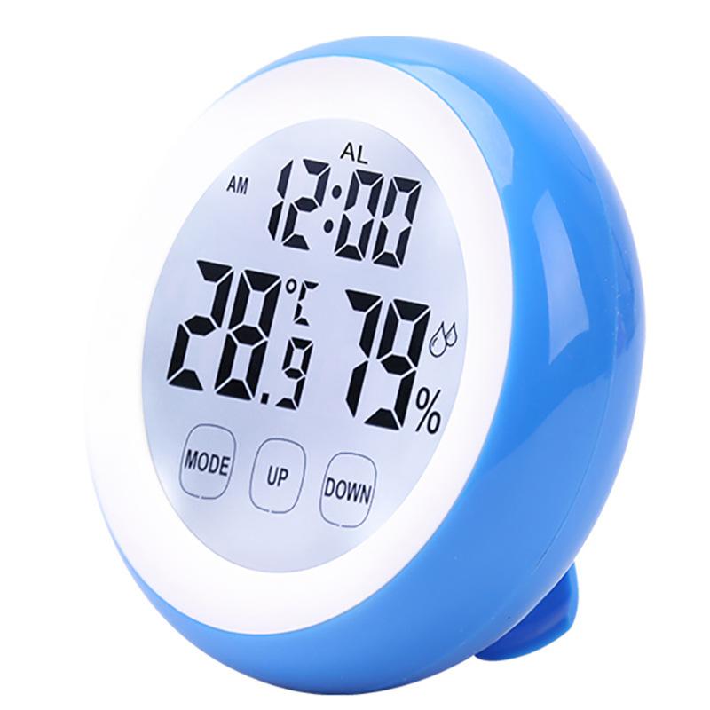 Đồng hồ để bàn hình tròn 3305B - Tặng 1 kèm móc dán treo đồng hồ