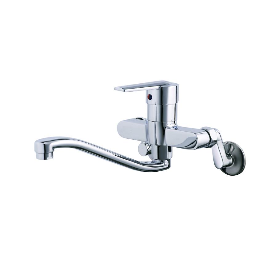 Vòi rửa bát (chén) nóng lạnh gắn tường Caesar K376C - chiều dài vòi 306 mm
