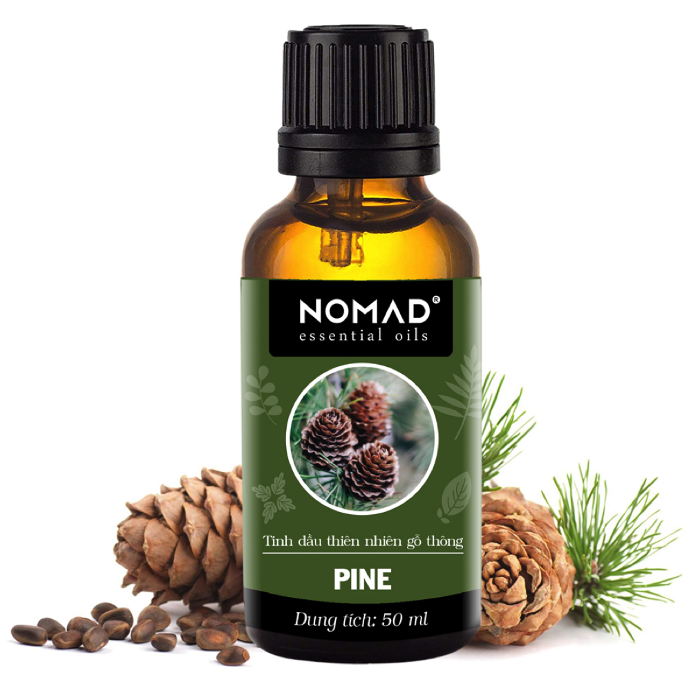 Tinh Dầu Thiên Nhiên Hương Gỗ Thông Nomad Essential Oils Pine 30ml