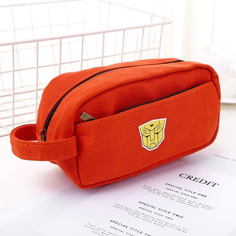 Túi Đựng Bút Siêu anh Hùng Bằng Vải Nhiều Ngăn - HB42