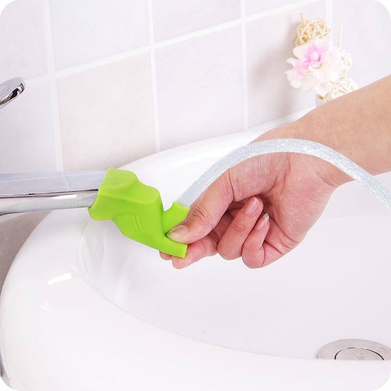 Bộ 2 Đầu Nối Dài Vòi Nước dài cho bé Tiện Dụng - vòi nước silicone TP069