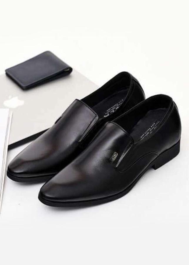 Giày Tăng Chiều Cao Nam Da Bò N2101MK