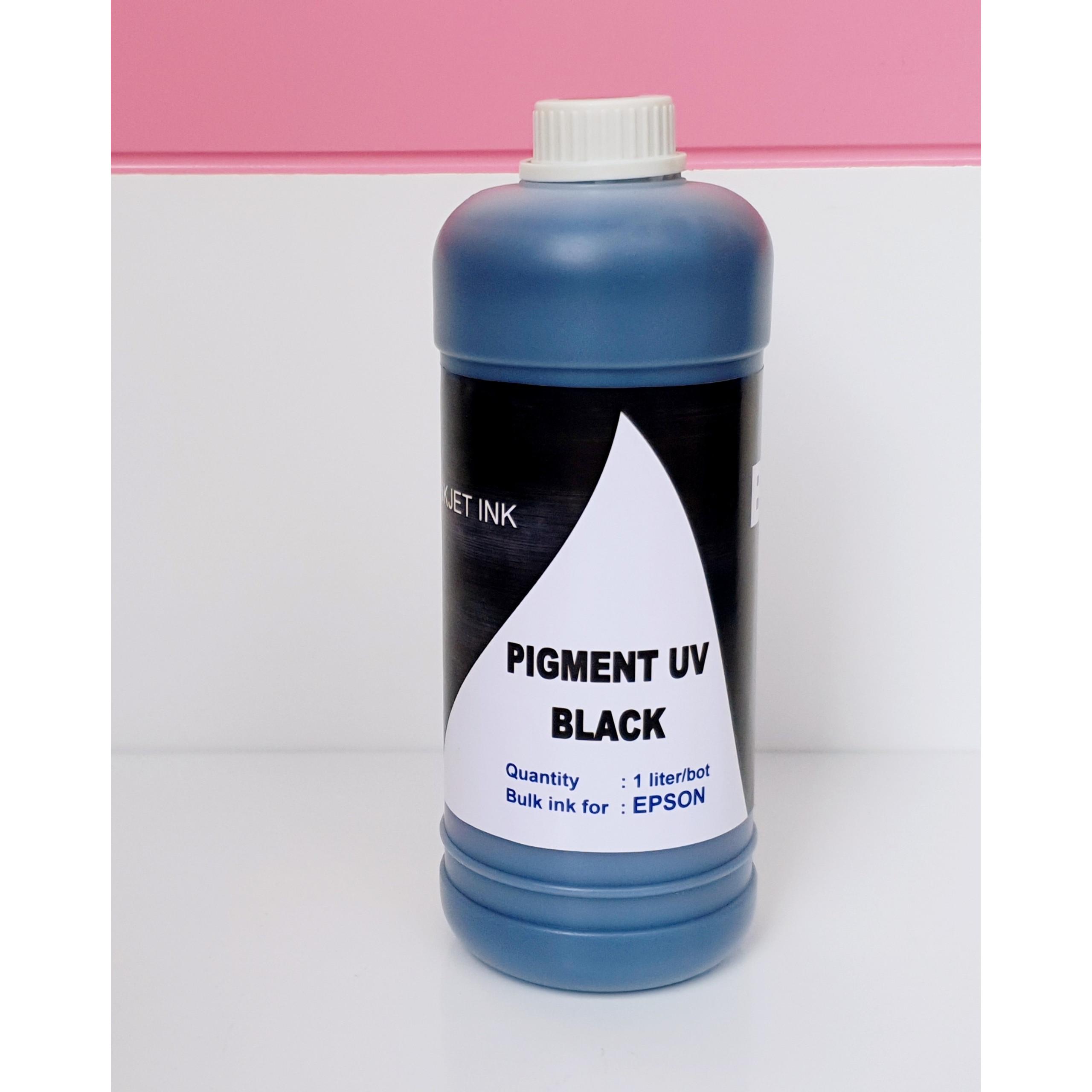 Mực dầu - mực Pigment UV dùng cho máy in phun màu Epson - Mực in Epson Loại 1 lít