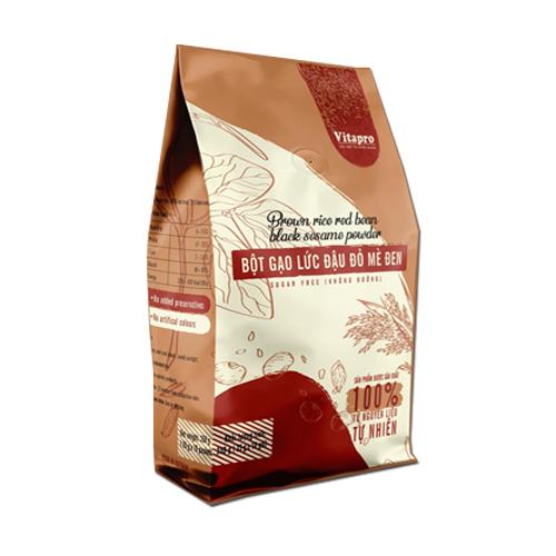 Bột Gạo Lức Đậu Đỏ Mè Đen Vitapro (350gr) - Dinh Dưỡng Thơm Ngon