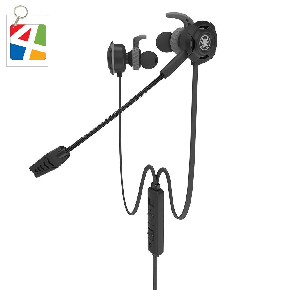 Tai nghe Gaming nhét tai in ear dành cho game thủ chơi Game Pubg Mobile chuyên nghiệp Plextone(Nhiều Tùy Chọn) - Hàng Chính Hãng.
