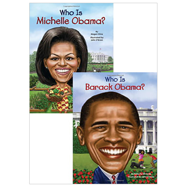 Combo Who Is Barack Obama? - Who Is Michelle Obama?