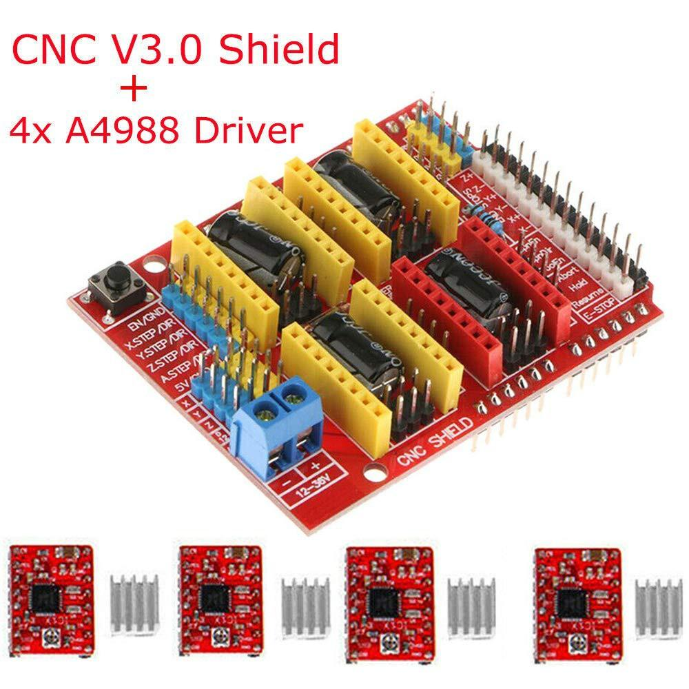 Mạch CNC Shield V3 A4988 driver